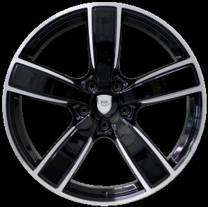 Cerchi in lega WSP Italy  W1059       22''  Width 10.0   5x130  ET 48  CB 71,6    Glossy Black Polished