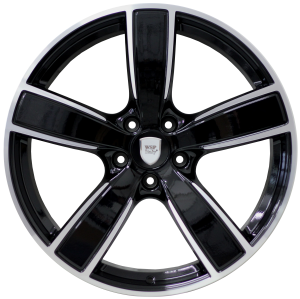 Cerchi in lega WSP Italy  W1059       22''  Width 11.5   5x130  ET 61  CB 71,6    Glossy Black Polished