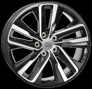 Cerchi in lega WSP Italy  W1152       19''  Width 8.5   5x120  ET 45  CB 67,1    Glossy Black Polished