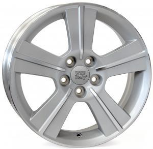 Cerchi in lega WSP Italy  W2703       16''  Width 6.5   5x100  ET 48  CB 56,1    Silver Polished