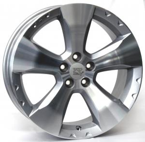 Cerchi in lega WSP Italy  W2702       17''  Width 7.0   5x100  ET 48  CB 56,1    Silver Polished