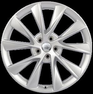 Cerchi in lega WSP Italy  W1401       21''  Width 9.0   5x120  ET 40  CB 64,1    Silver