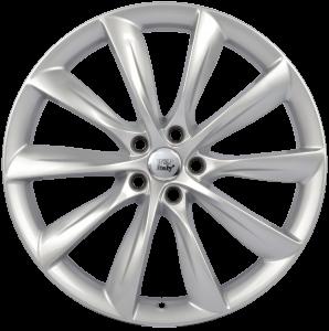 Cerchi in lega WSP Italy  W1402       22''  Width 10.0   5x120  ET 35  CB 64,1    Silver