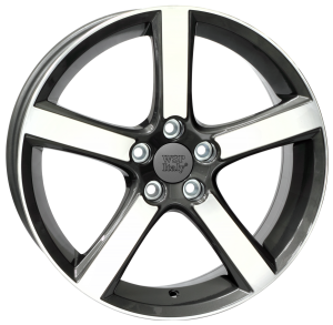 Cerchi in lega WSP Italy  W1257       18''  Width 7.5   5x108  ET 52.5  CB 63,4    Anthracite Polished