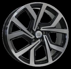 Cerchi in lega WSP Italy  W469        18''  Width 7.5   5x100  ET 51  CB 57,1    Glossy Black Polished