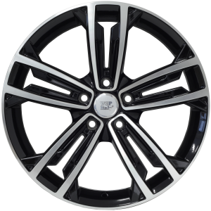 Cerchi in lega WSP Italy  W471        18''  Width 7.5   5x112  ET 49  CB 57,1    Glossy Black Polished