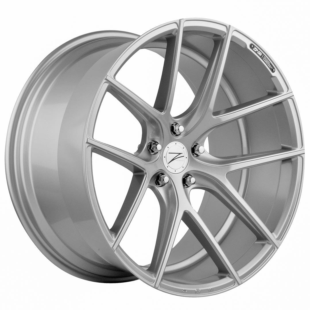 Cerchi in lega  Z-Performance  ZP.09 Deep Concave   21''  Width 10.5   5x120  ET 35  CB 74.1    Sparkling Silver