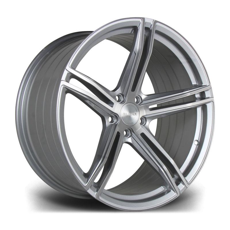 Cerchi in lega  Riviera  RF103  19''  Width 8.5   5X112  ET 42  CB 73.1    Platinum Brushed