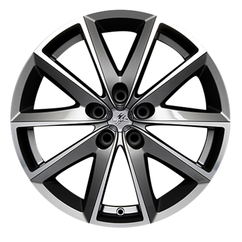 Cerchi in lega  Fondmetal  7600  17''  Width 7.50   5x100  ET 35.00  CB 67.2 Ring Seat    Glossy Titanium Machined