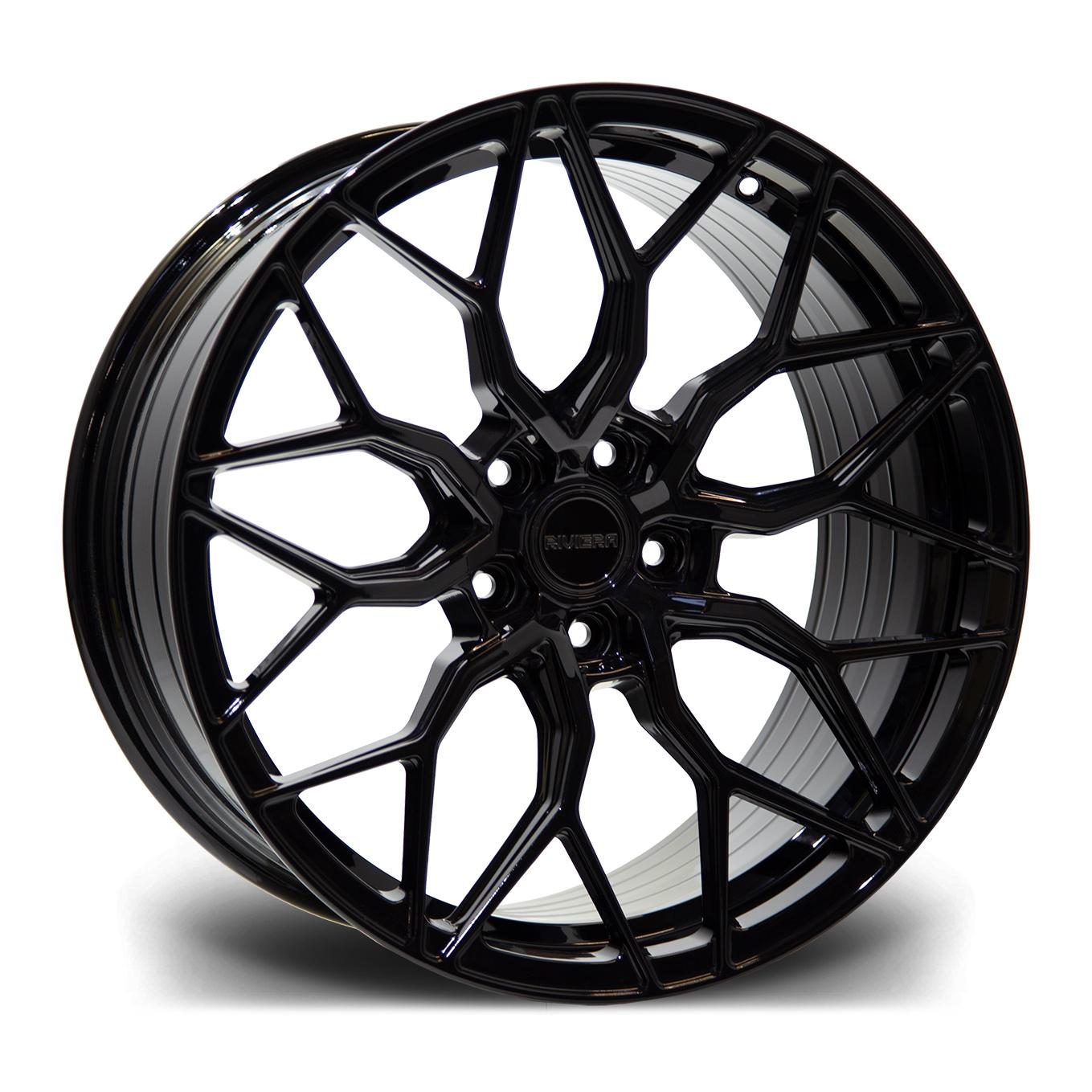 Cerchi in lega  Riviera  RF108  23''  Width 10.5   5X120  ET 35  CB 72.5    Gloss Black