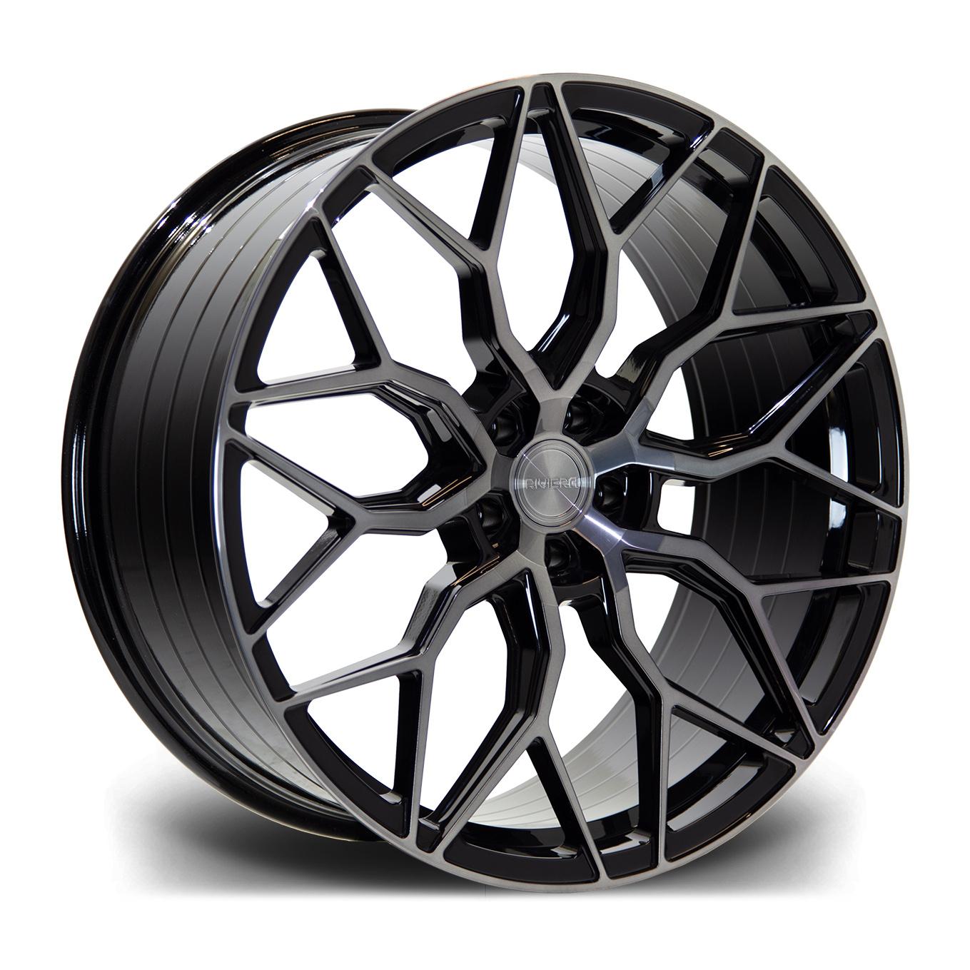 Cerchi in lega  Riviera  RF108  23''  Width 10.5   5X120  ET 35  CB 72.6    Black Polished Dtint