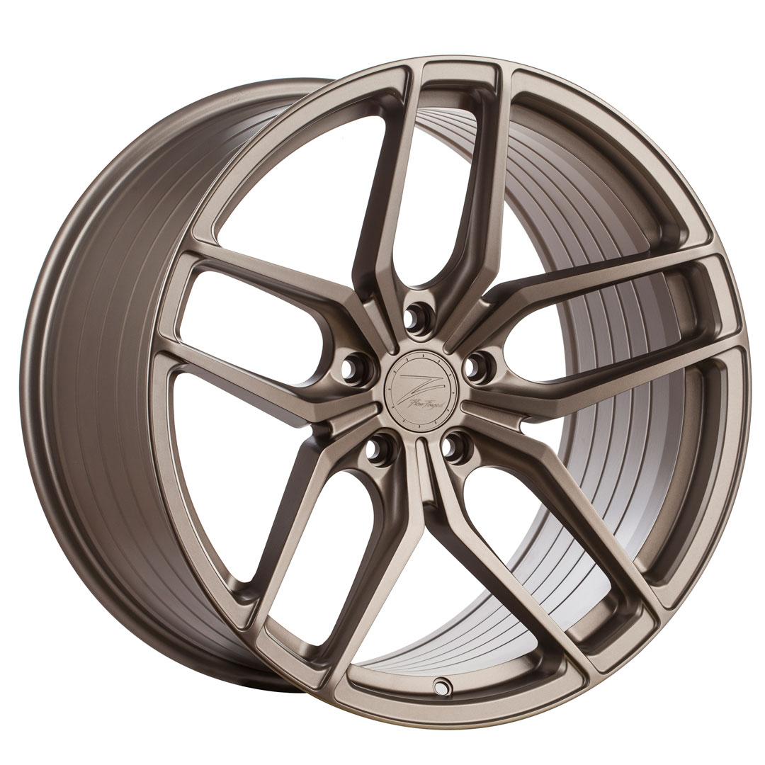 Cerchi in lega  Z-Performance  ZP2.1 Deep Concave   20''  Width 8.5   5x112  ET 45  CB 66.6    FlowForged Matte Carbon Bronze