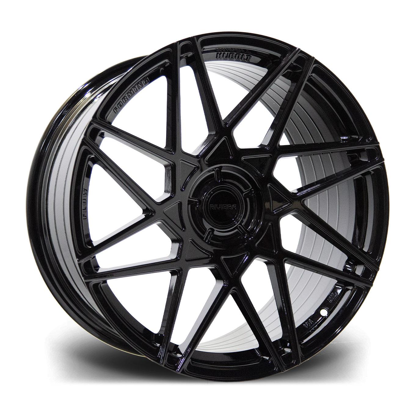 Cerchi in lega  Riviera  RF2  20''  Width 8.5   5X120  ET 35  CB 72.5    Gloss Black