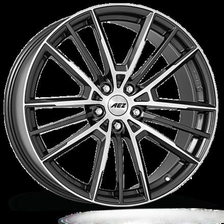 Cerchi in lega  AEZ  Kaiman dark  20''  Width 8   5x120  ET 35  CB 72,6    Gunmetal/polished