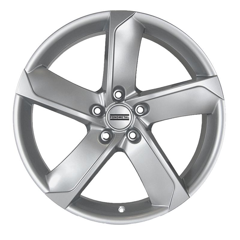 Cerchi in lega  Fondmetal  7900  15''  Width 6.50   5x112  ET 48.00  CB 57.1    Glossy Silver