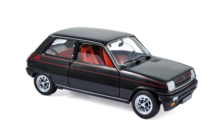 Renault 5 Alpine 1976 Black 1/18