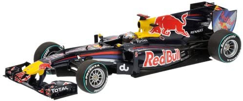 Red Bull Racing RB6 Sebastian Vettel Abu Dhabi GP 2010 World Champion 1/18