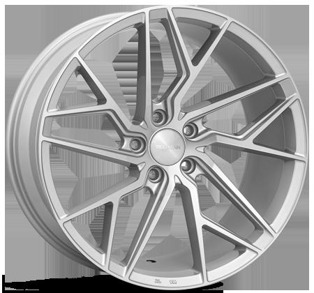 Cerchi in lega  Veemann  V-FS44  19''  Width 9,5   5x112  ET 42  CB 66.56    Silver Machined