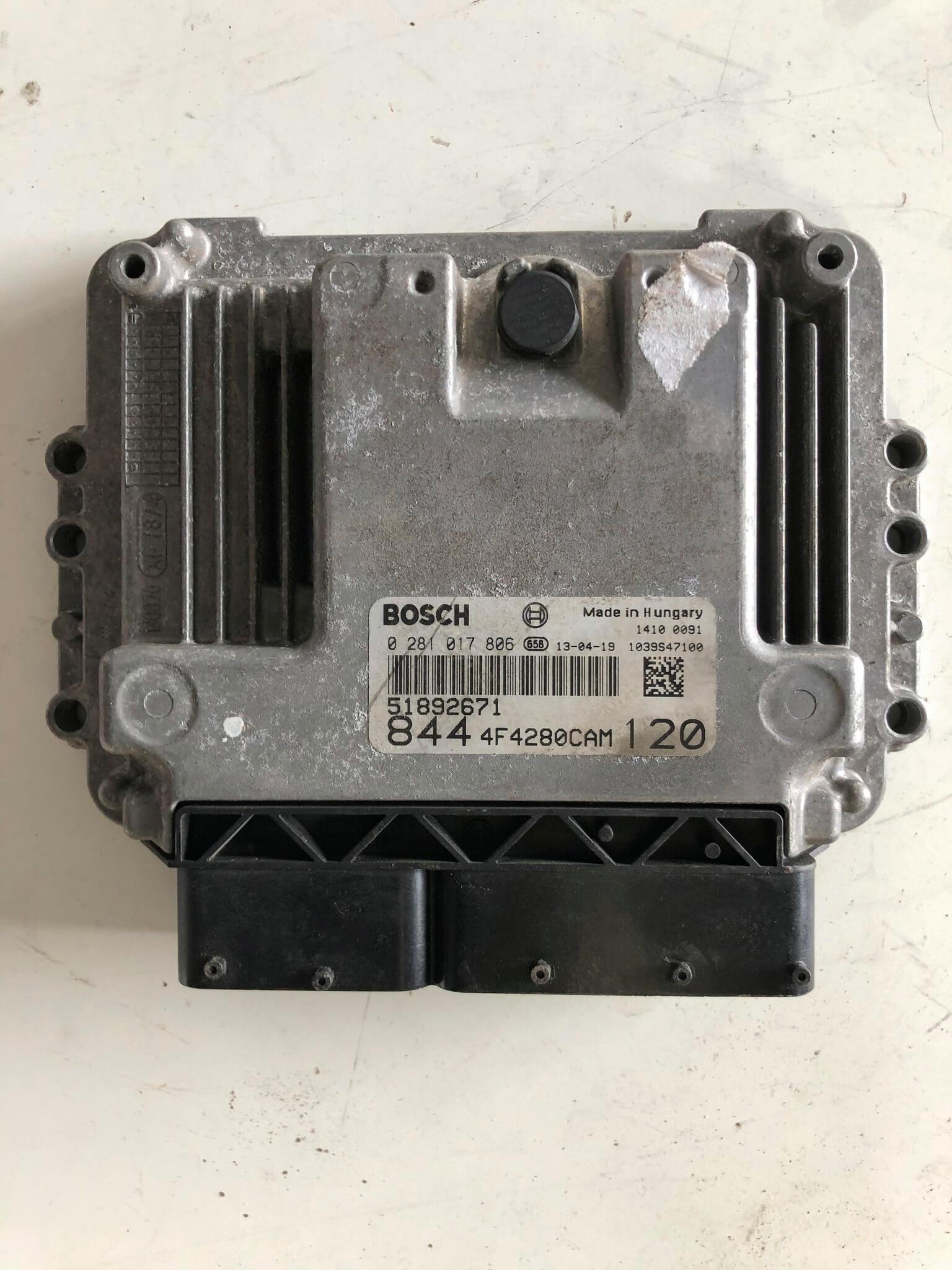 Centr. Iniezione usata Lancia Delta 1.6MJT cod. 51892671