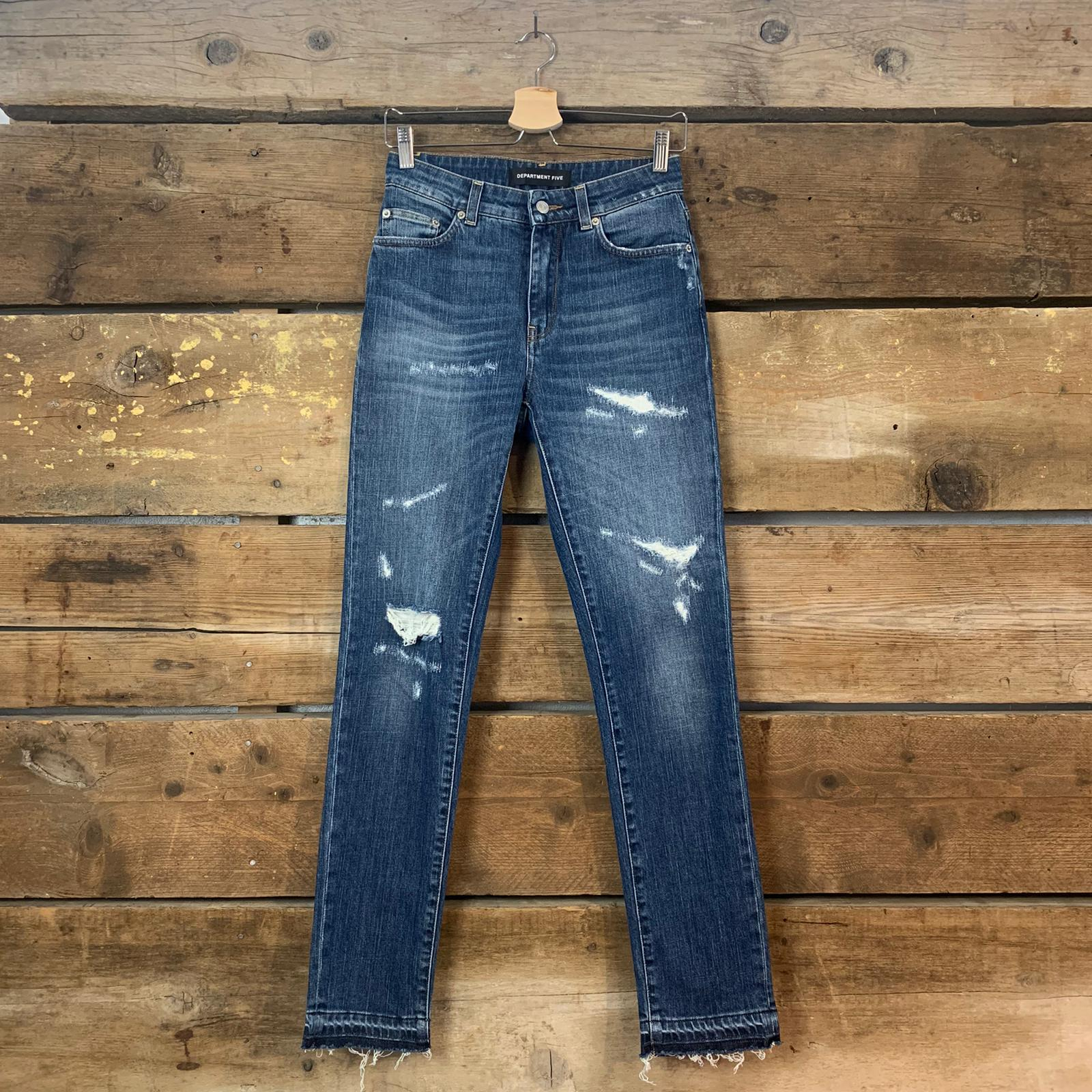 Jeans Department 5 May Orlo Sciolto Blu