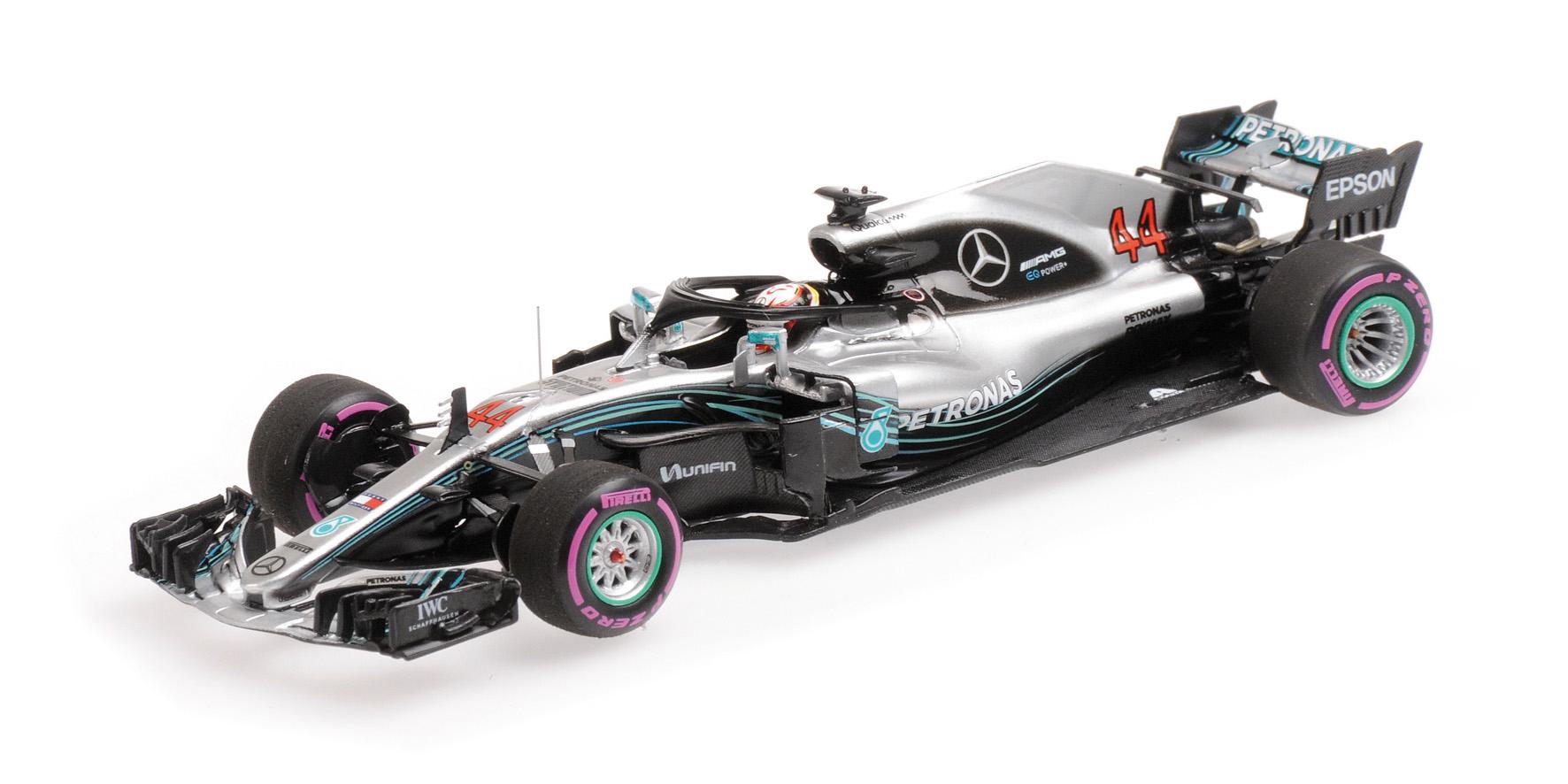 Mercedes AMG Petronas Motorsport Louis Hamilton 2018 1/43