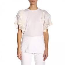 T Shirt Maxi Maniche cotone - TWIN SET