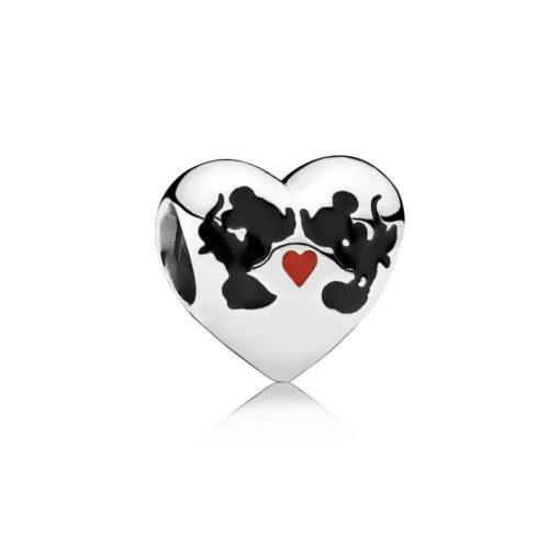 Disney, Charm Il Bacio di Mickey Mouse e Minnie