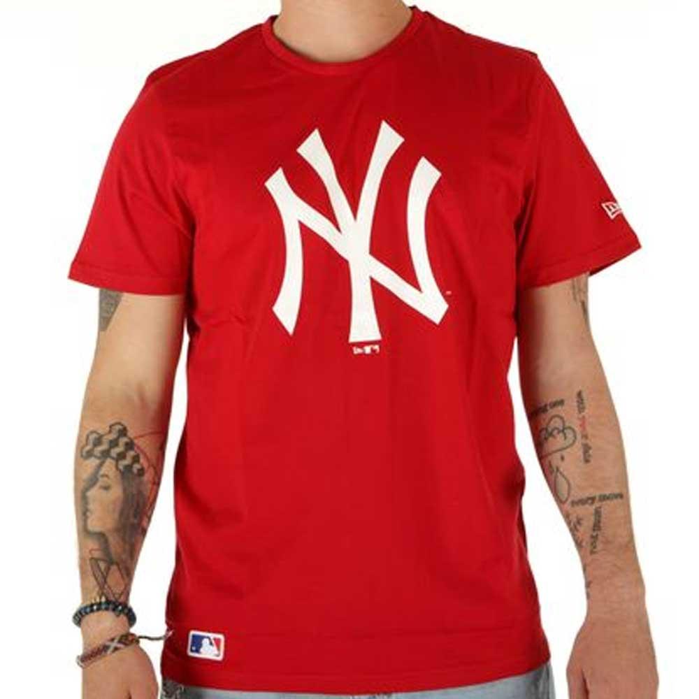 New Era Red Shirt da Uomo