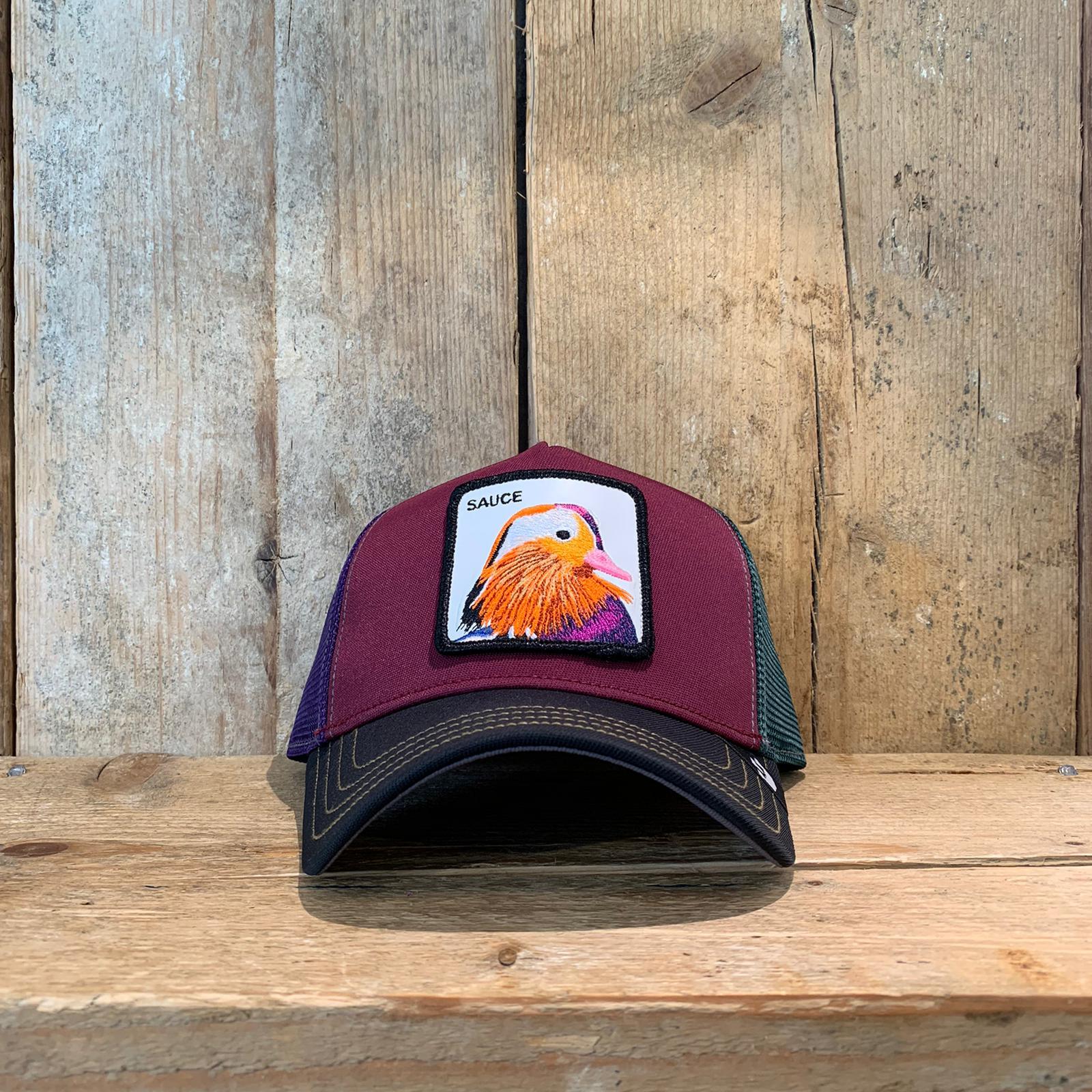 Cappellino Goorin & Bros con Colibrì Multicolor