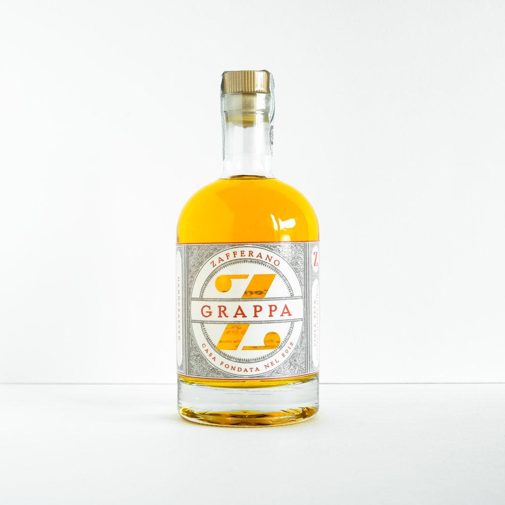 Grappa Zafferano 0.70 38%