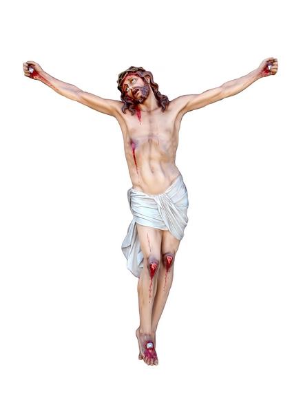 Corpo di Cristo agonizzante in vetroresina cm. 165