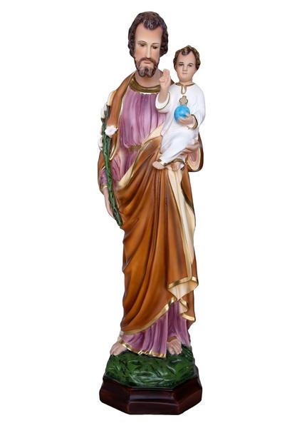 S. Giuseppe in resina cm. 64