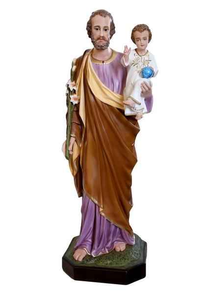 S. Giuseppe in resina cm. 100