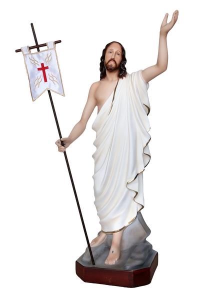 Gesù Risorto in resina cm. 65