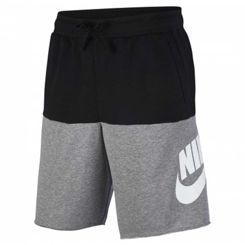 Nike Bermuda Sportswear Grey/Black da Uomo