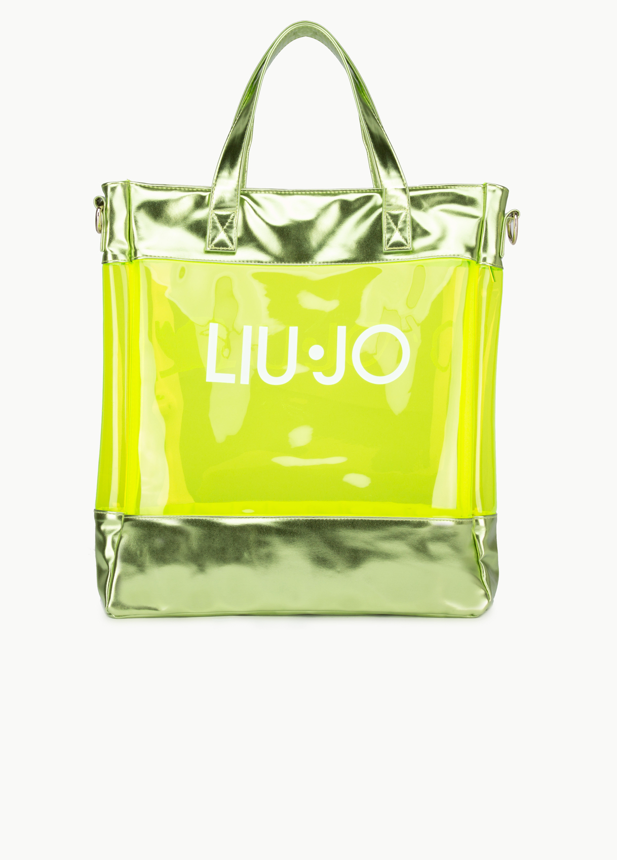 Shopping bag pvc germoglio - LIU JO