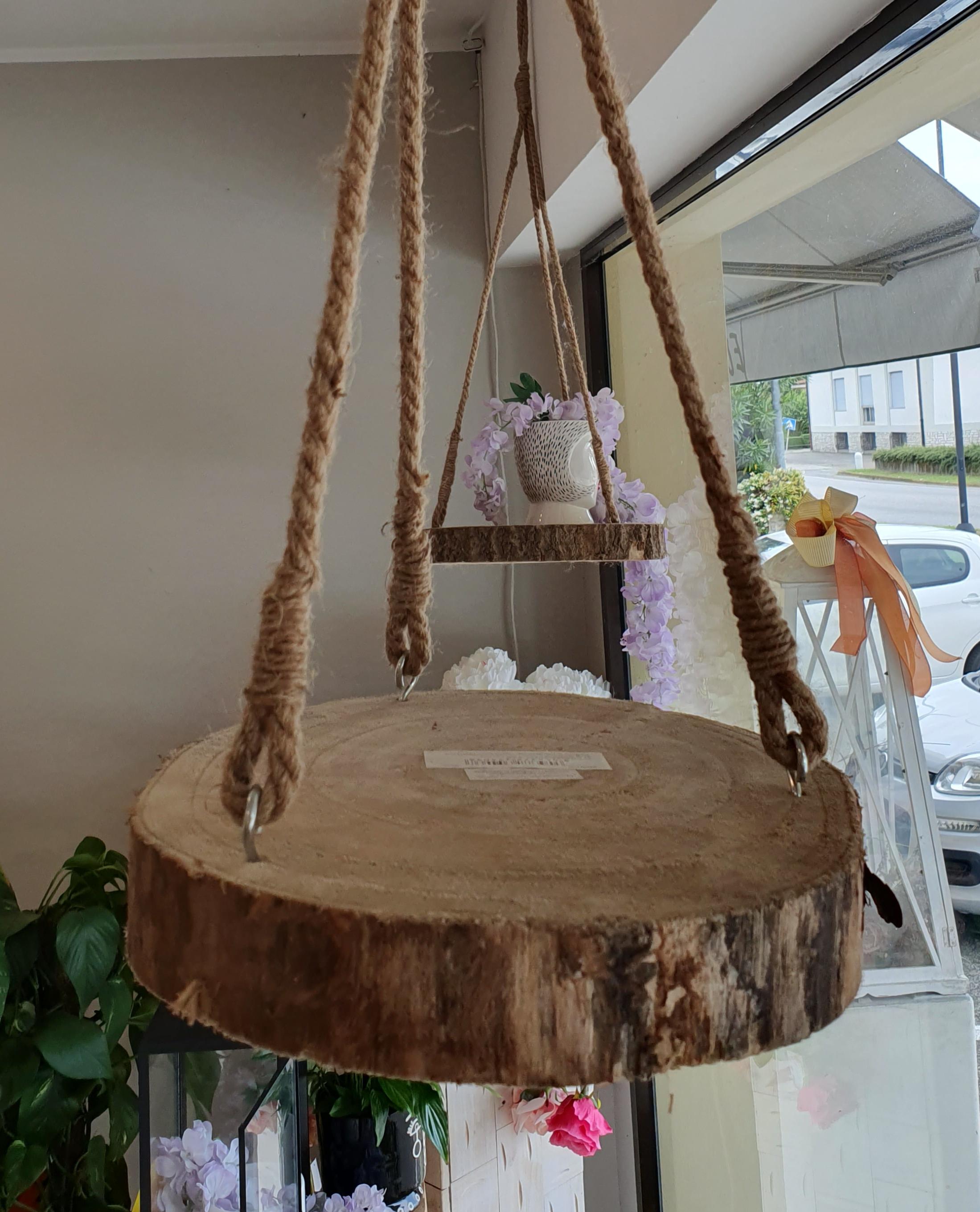 Base legno porta vasi edg Enzo de Gasperi d45