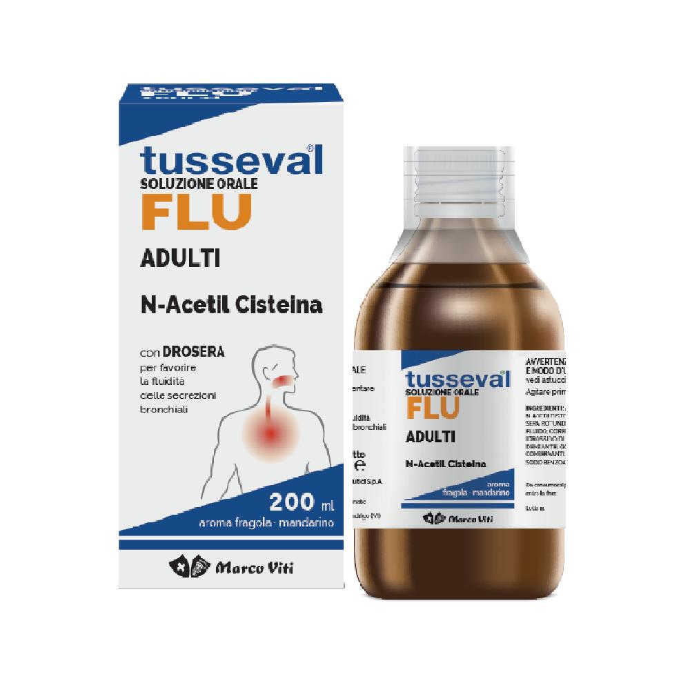 TUSSEVAL-FLU SOLUZIONE ORALE