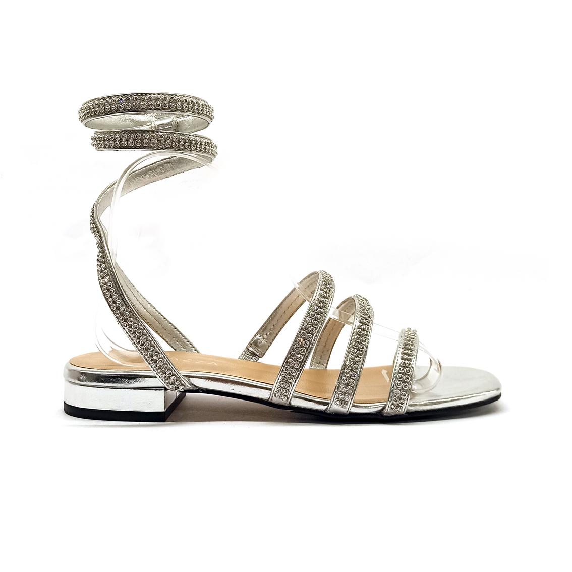 Sandalo gioiello argento Apepazza
