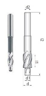 Fresa S2 Z4 HSS-E Co5