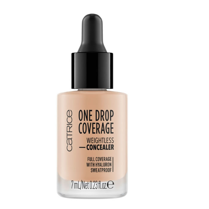 Catrice One Drop Coverage Weightless Concealer 010 Light Beige 7ml