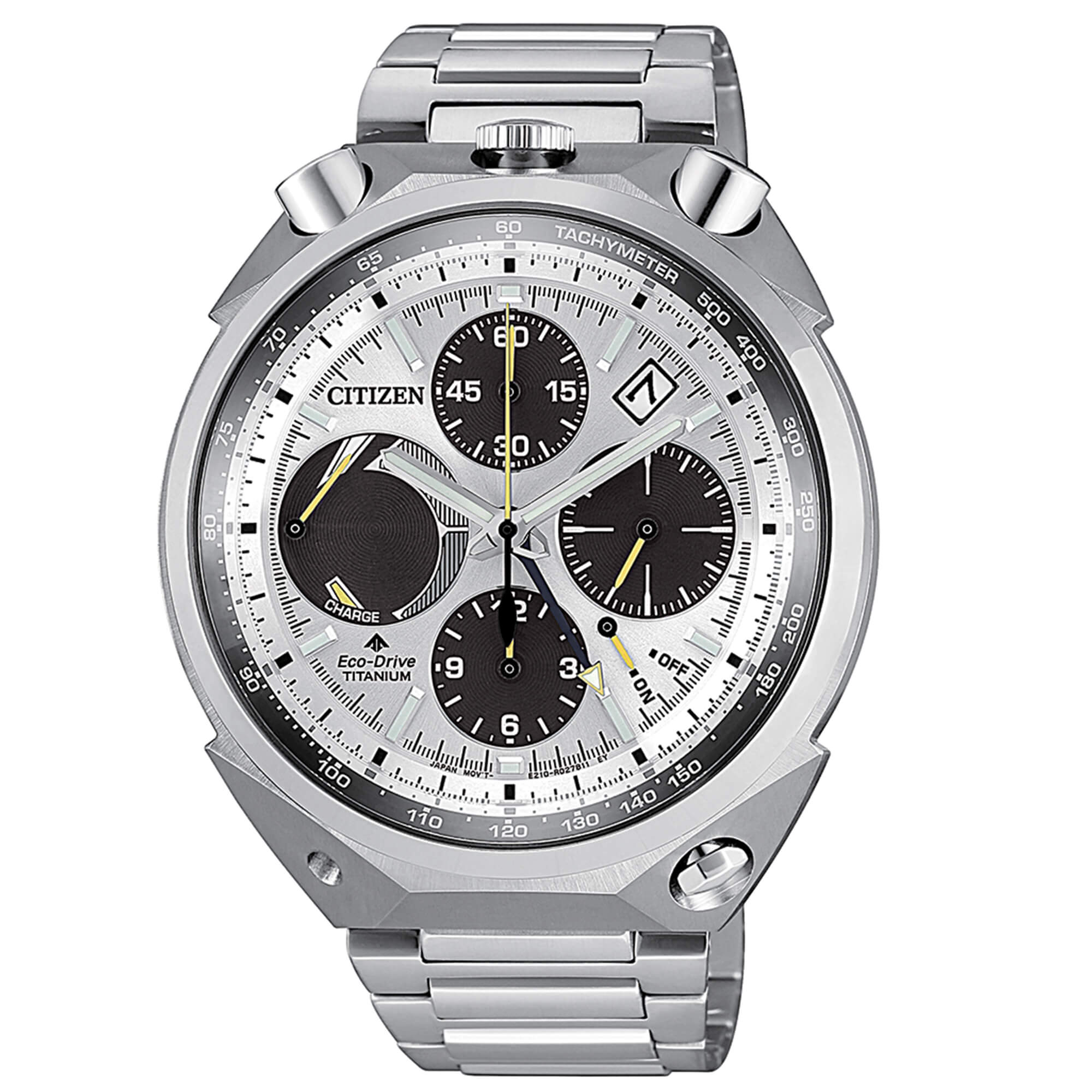 Citizen BullHead Eco Drive SuperTitanium
