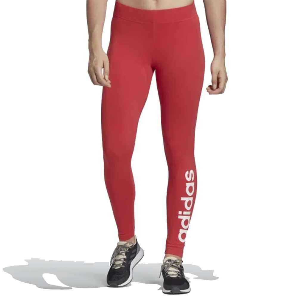 Adidas Legging Lin Tight Pastel Red da Donna
