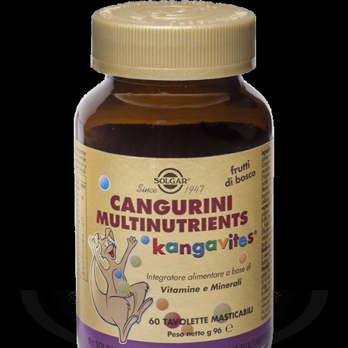 Solgar Cangurini Multinutrient 60 Tavolette