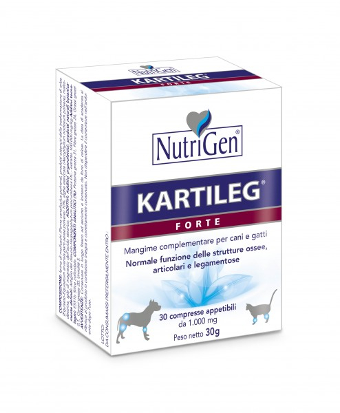 Kartileg Forte Nutrigen per cani e gatti