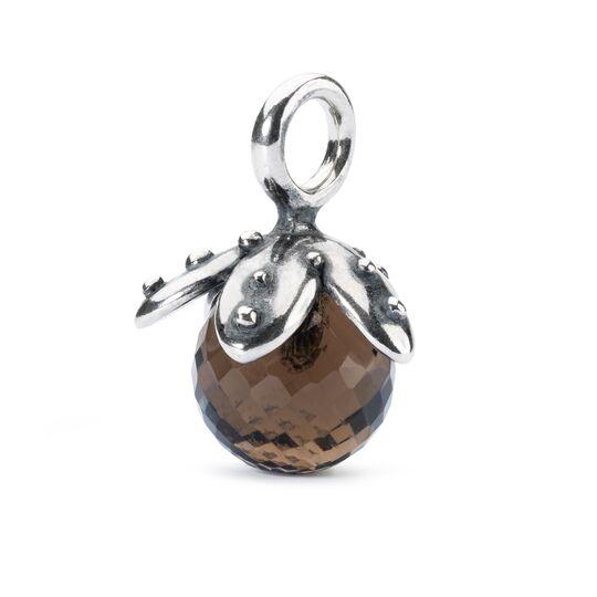 Beads Trollbeads, Pendente con Quarzo Fumè