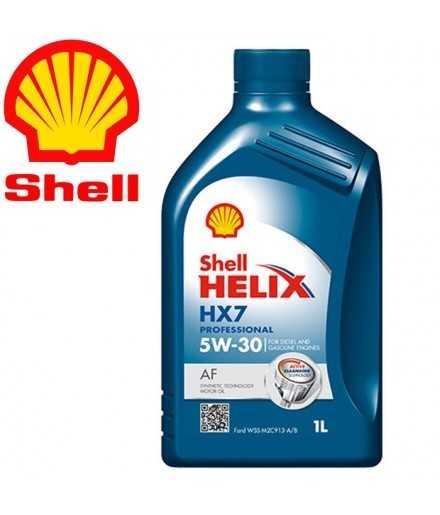 Shell Helix HX7 Professional AF 5W/30 barattolo 1 litro