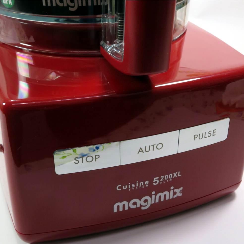 Robot multifunzione rosso Magimix 5200XL