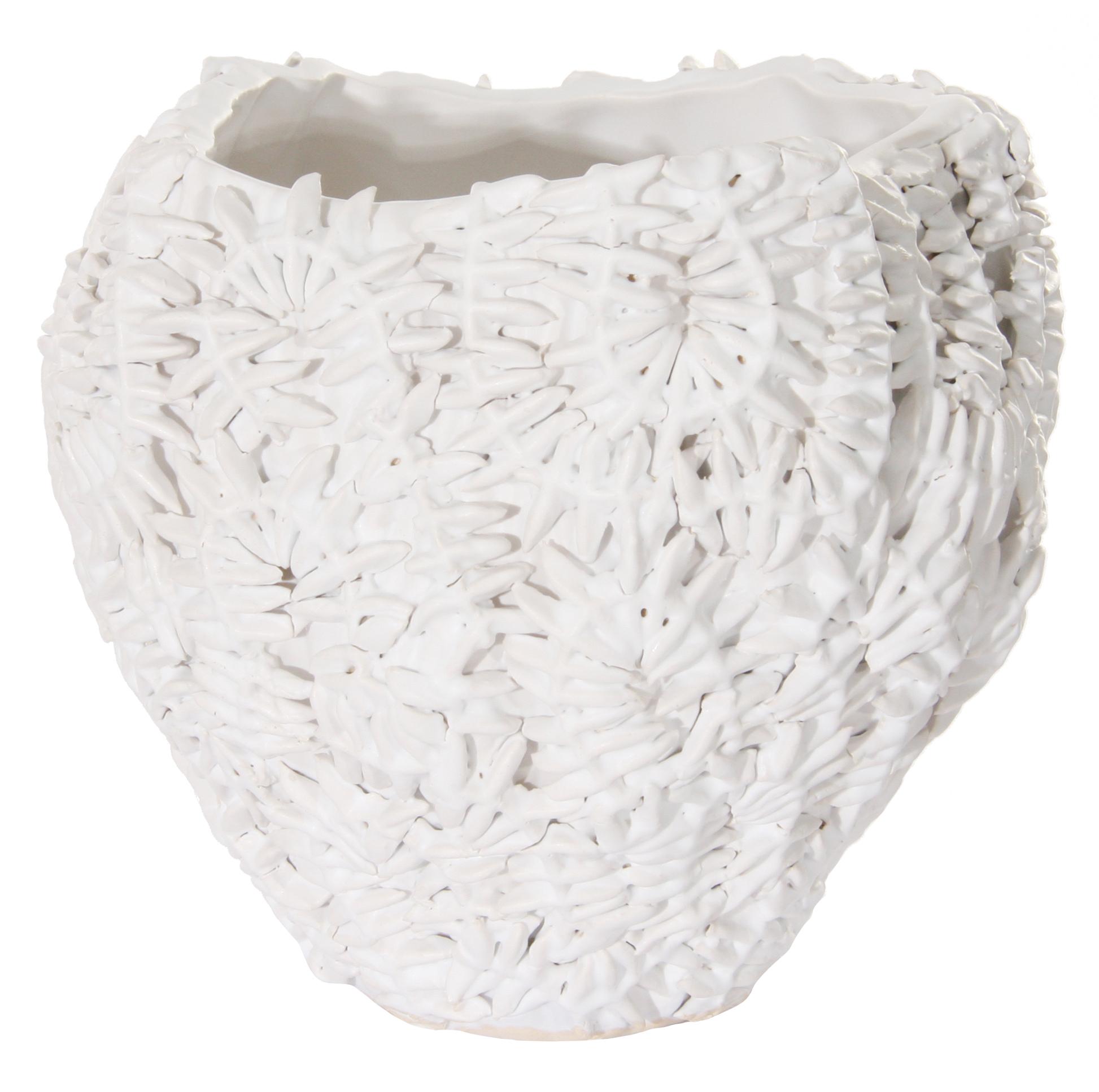 Vaso porcellana scultura