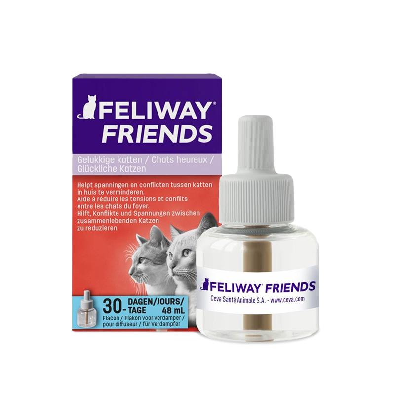 Ceva - Feliway Friends - Ricarica FLACONE 48 ML (30 GIORNI)